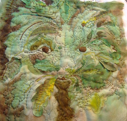 Greenman from posted stitches
