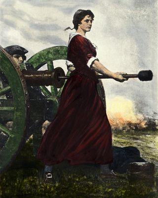 Molly at the Gun