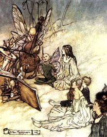 Rackham faeries