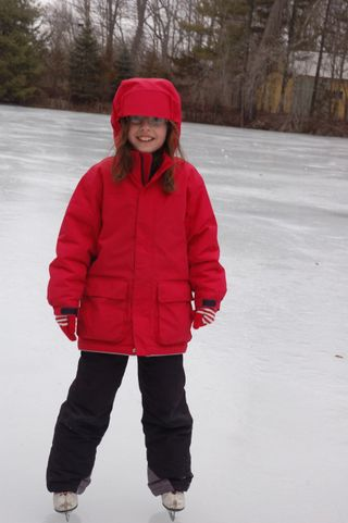 Em on the ice