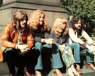 Sandy denny with the zep courtesy sandy denny blog