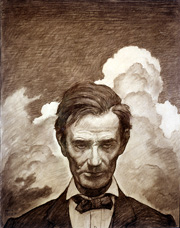 Wyeth Portrait of Lincoln 1948
