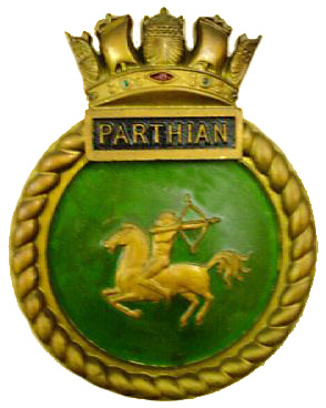 Parthian badge