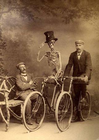 Bicycle skeleton