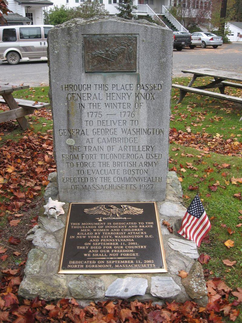 North Egremont Memorials