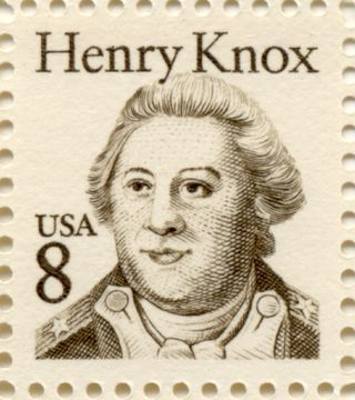 Knox 8 cent stamp