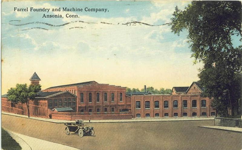 800px-PostcardAnsoniaCTFarelFoundry&MachineCo1917