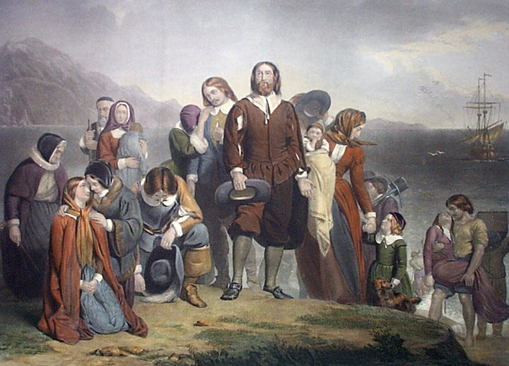 Group of Pilgrims