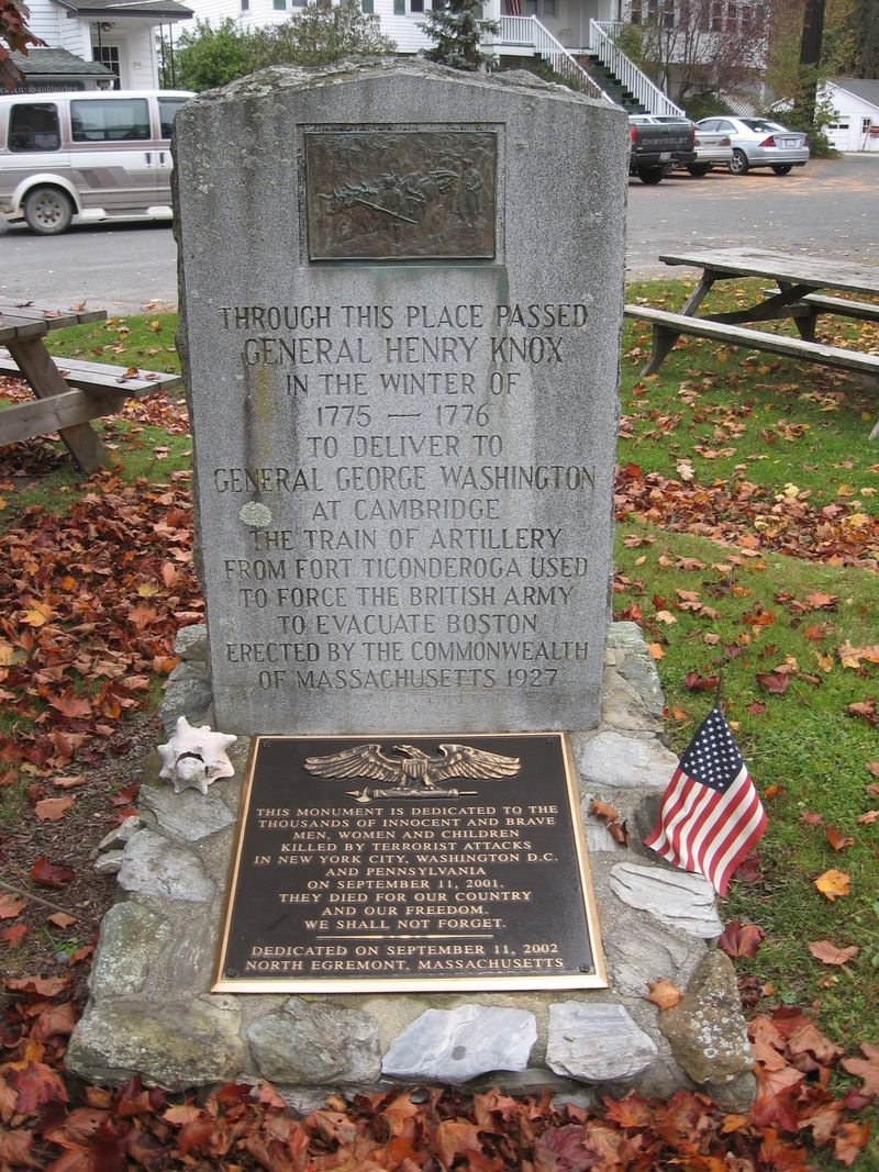 Knox marker egremont MA