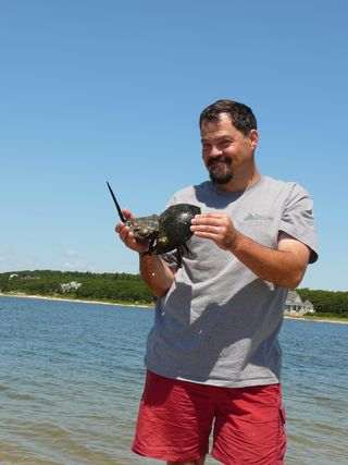 Tim_and_HorseshoeCrab