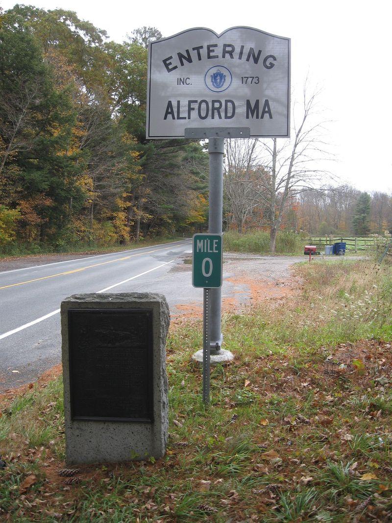 NY marker at MA line