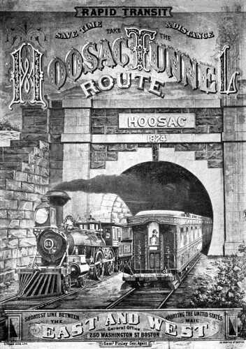Hoosac Tunnel ad