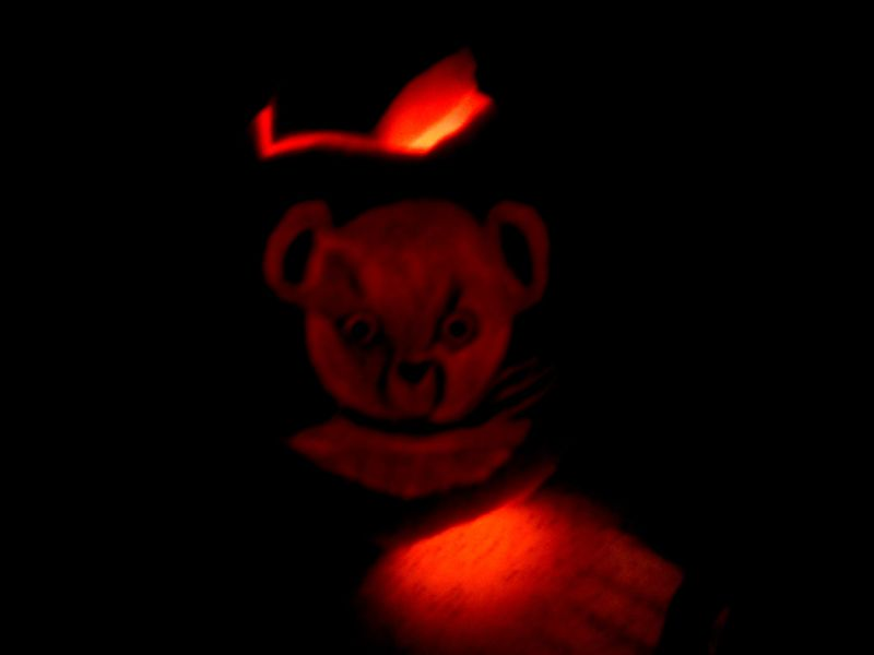 Jingle Bear Pumpkin