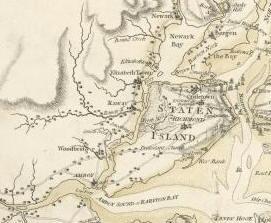 Staen island detail
