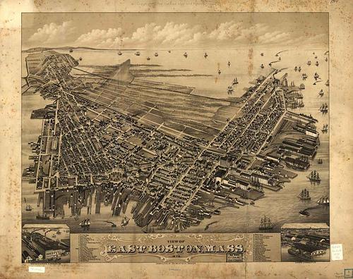 East Boston Map 1879