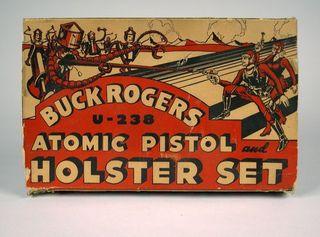 Buck Rogers U-235 Atomic Pistol box