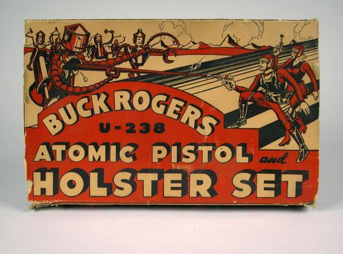 Buck Rogers U-235 Atomic Pistol box