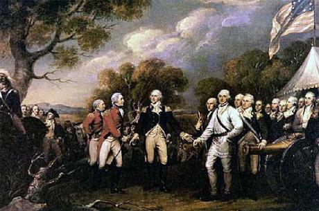 Burgoyne-surrenders
