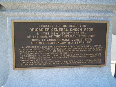 Poor memorial plaque