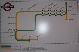 Ulysses Underground Map