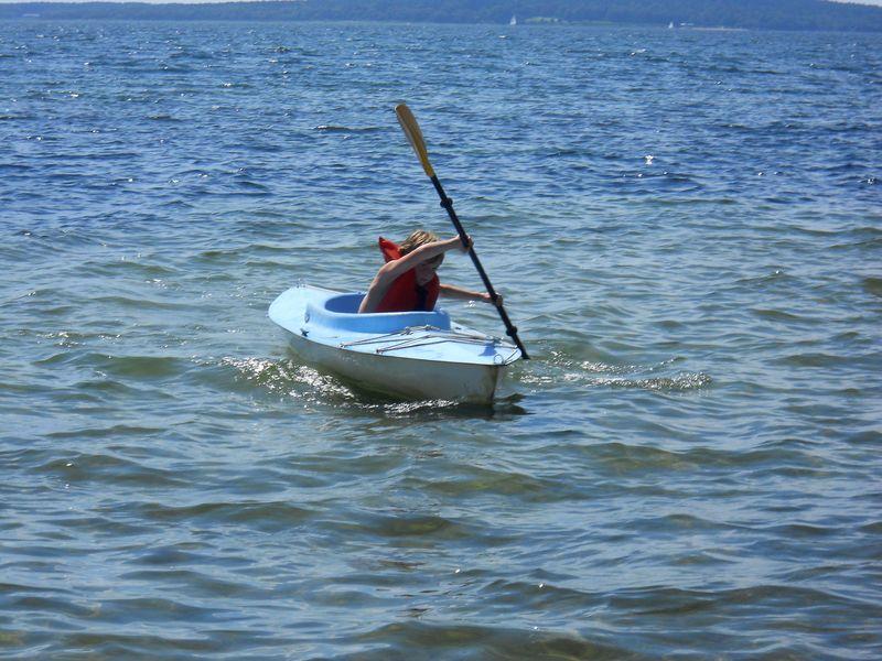 Elias and Kayak