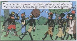 Tintin_army