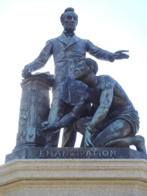 Lincoln_emancipation_monument