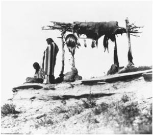 Blackfoot_burial_platform