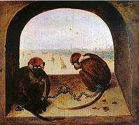 Two_fettered_apes_1562_pieter_brueghel_t